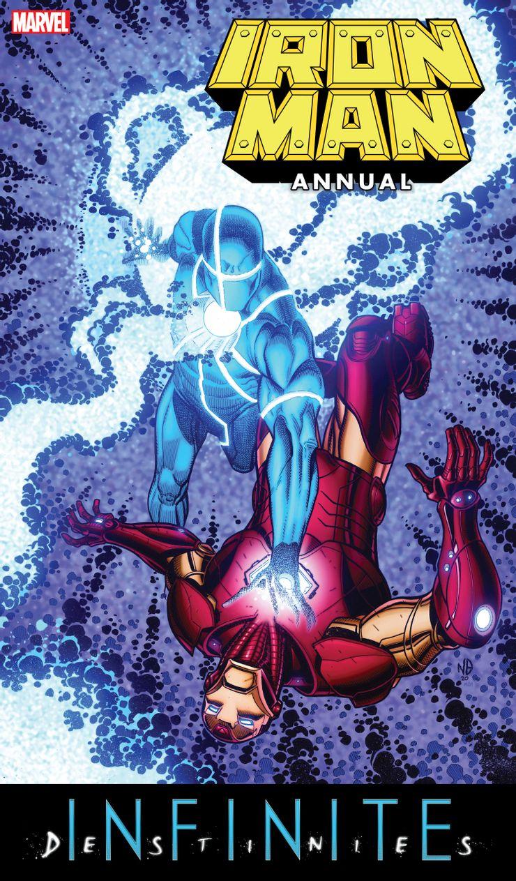 Iron Man Annual #1 - okładka