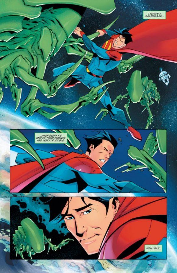 Superman #29 - plansze