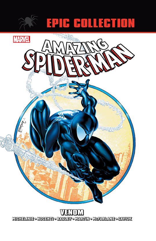 Amazing Spider-Man Epic Collection. Venom - okładka