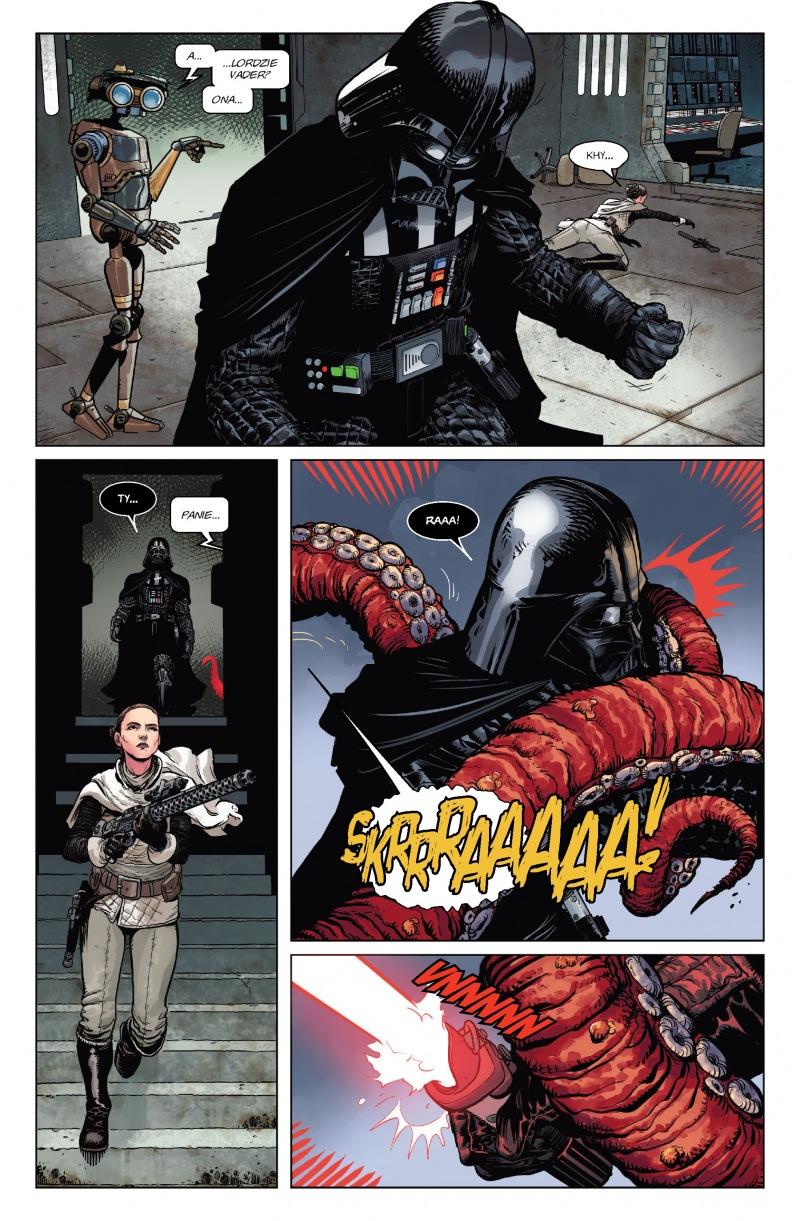 Star Wars. Darth Vader. Tom1. Mroczne serce Sithów - plansza