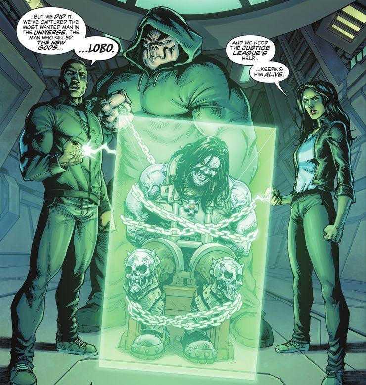 Justice League: Last Ride #1 - plansze