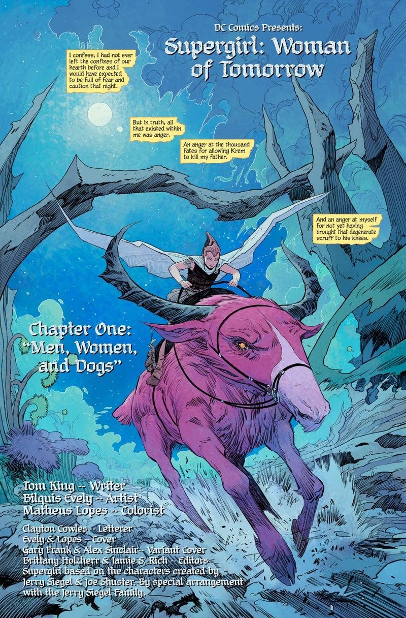 Supergirl: Woman of Tomorrow #1 - plansze