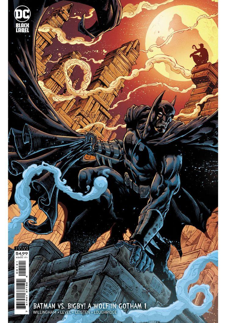 Batman vs. Bigby! A Wolf in Gotham - okładka alternatywna