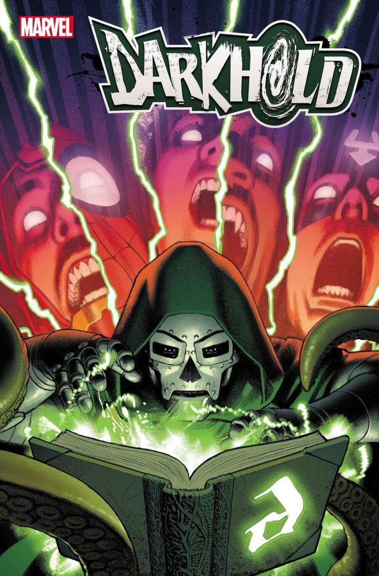Darkhold: Alpha #1 - materiały promocyjne