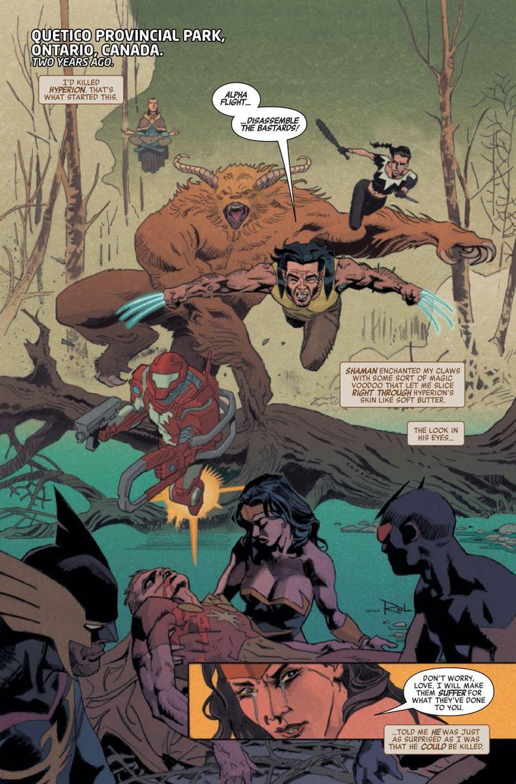Heroes Reborn: Weapon X & The Final Flight #1 - plansze