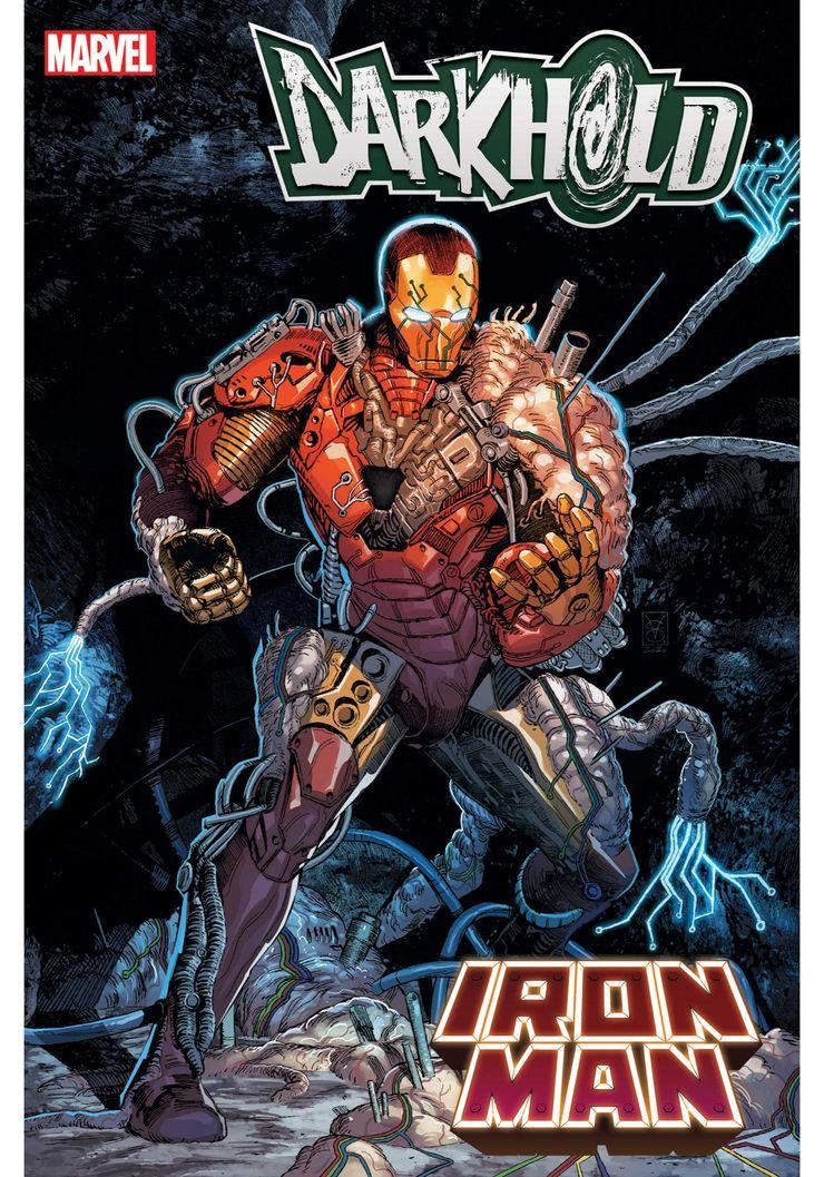 Darkhold: Iron Man #1 - okładka