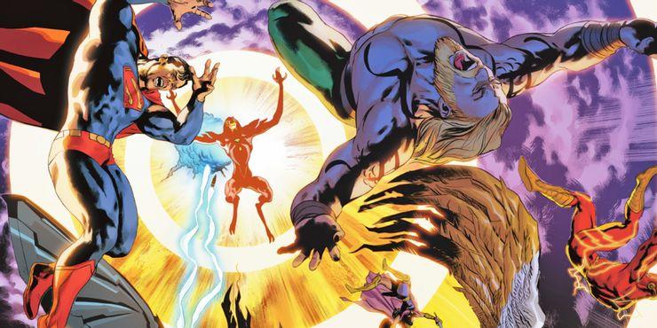 Justice League #65 - plansze