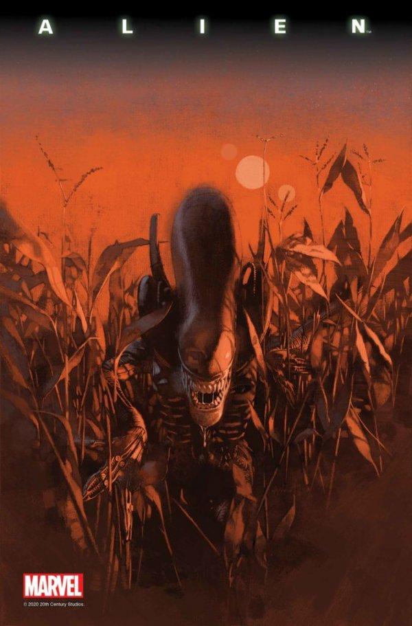 Alien #7 - okładka