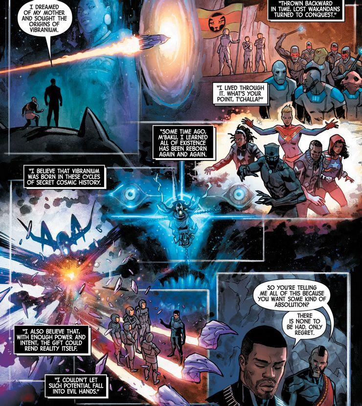 The Last Annihilation: Wakanda #1 - plansze