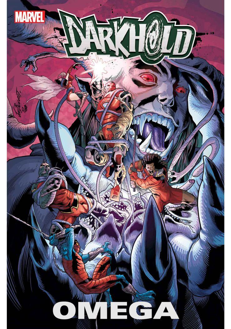 Darkhold: Omega #1 - okładka