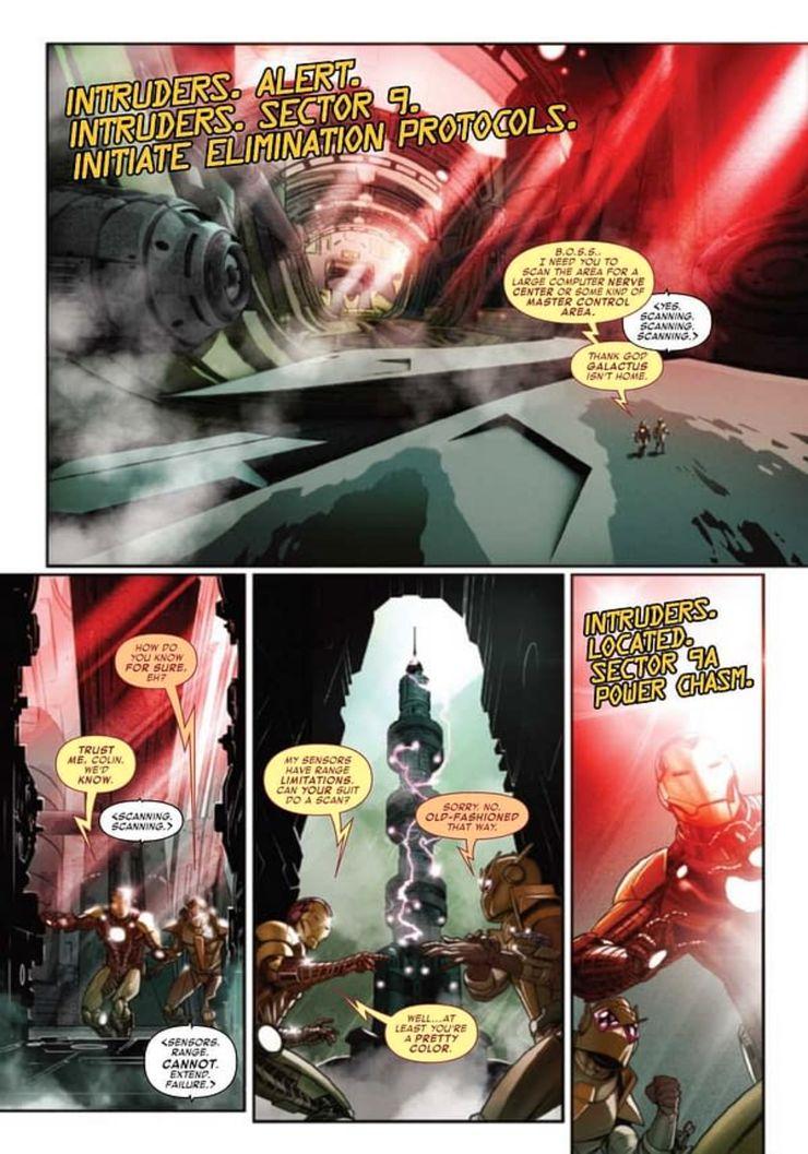 Iron Man #12 - plansze